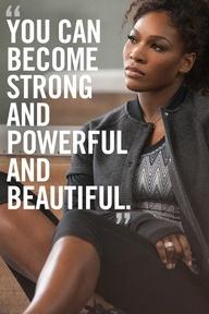 Motivation from Serena Williams