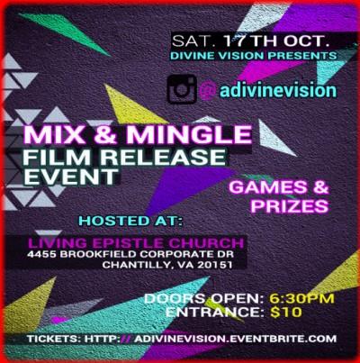 DMV Film Mix & Mingle Event