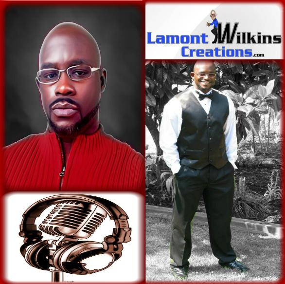 Featured Spoken Word Artist Lamont Wilkins