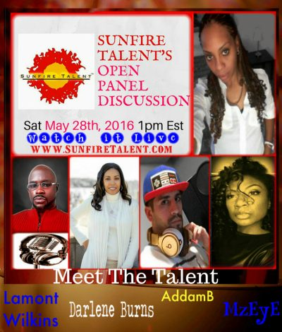 Sunfire Talent's Open Panel Discussion