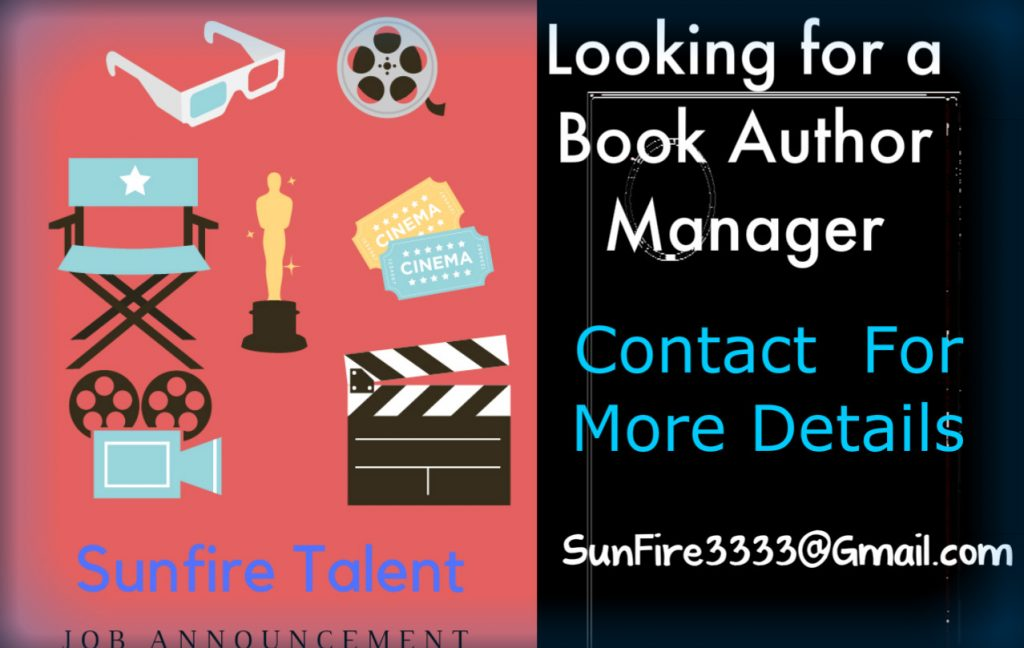 JOB ANNOUNCEMENT (Book Manager) Needed